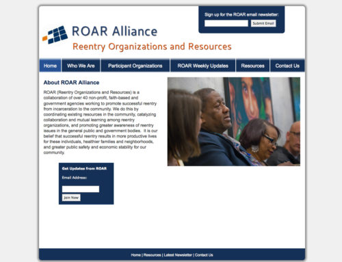 Reentry Organizations and Resources